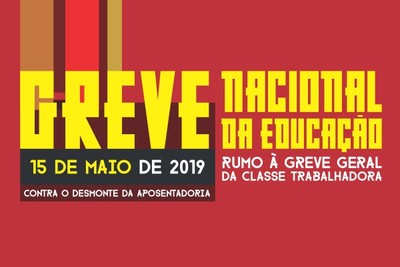 d4aeb5c5e A Greve Nacional da Educação, marcada para 15 de maio, professores,  estudantes e servidores públicos se ...